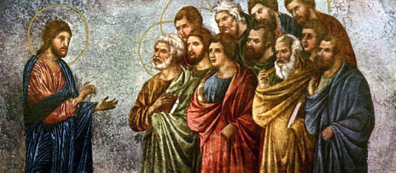 "<span class=""orderbynum"">116</span>Jesus Comforts His Disciples"